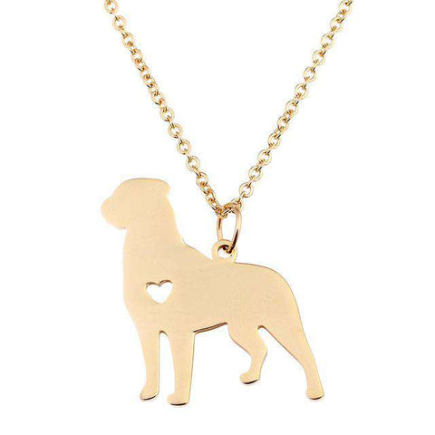 Boston Terrier Necklace - Green Earth Animals