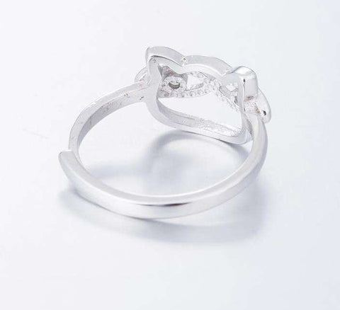 Image of Cat Eyes Ring - Green Earth Animals