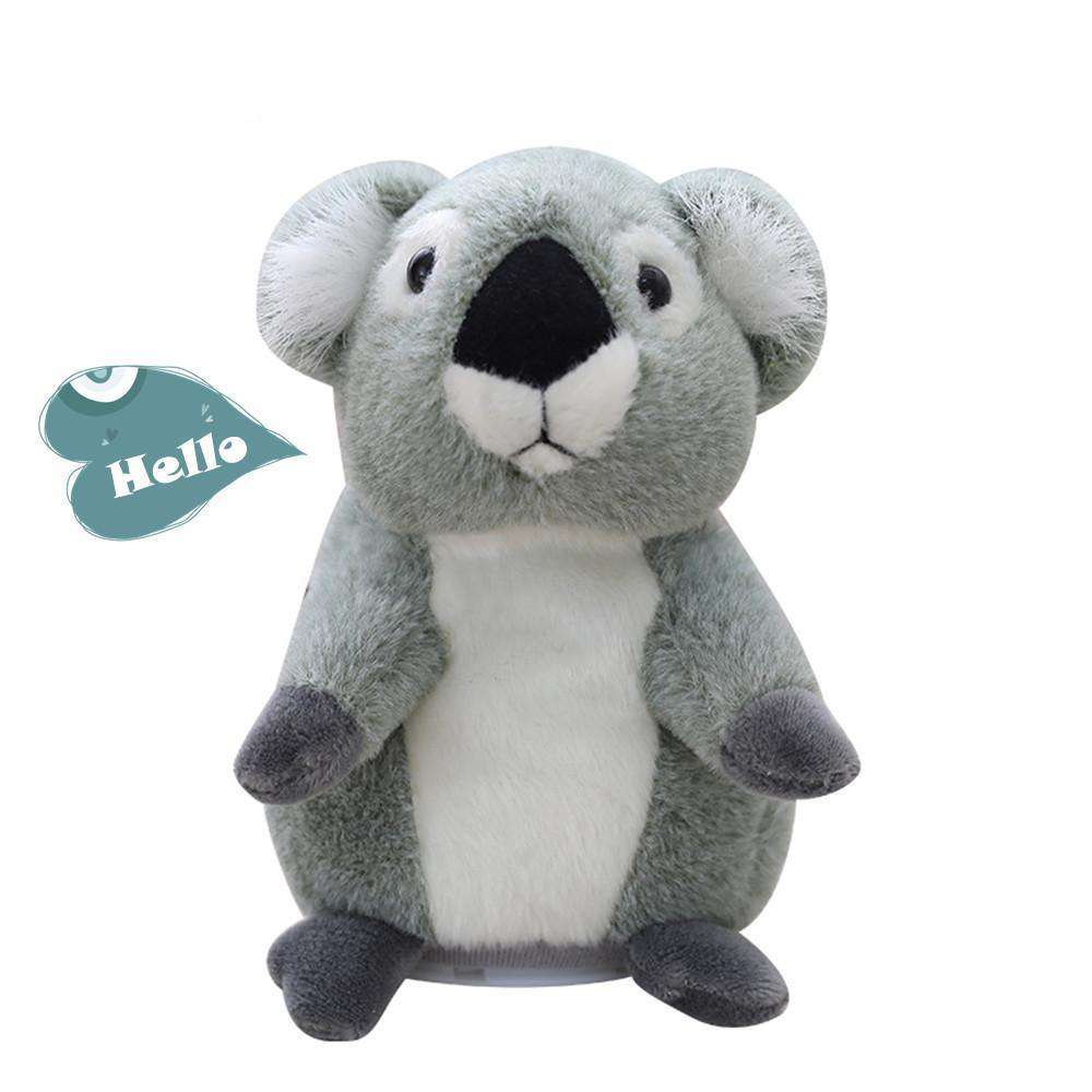 Talking Koala Plush Toy - Green Earth Animals