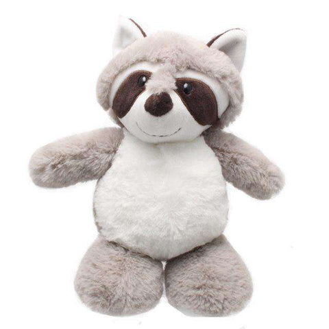 Image of Soft Raccoon Stuffed Animal Toy - Green Earth Animals