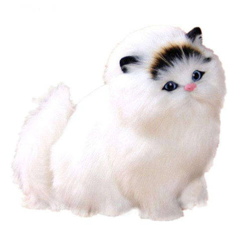 Plush Persian Cat Toys - Green Earth Animals