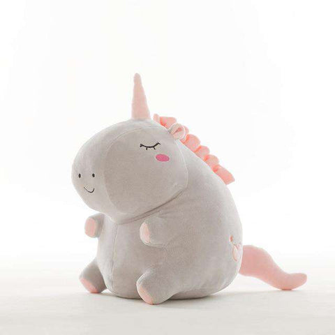 Plush Unicorn Pillow - Green Earth Animals