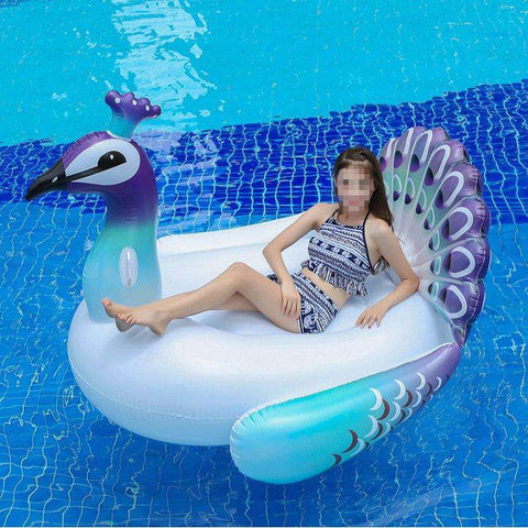 Giant Peacock Inflatable Pool Toy