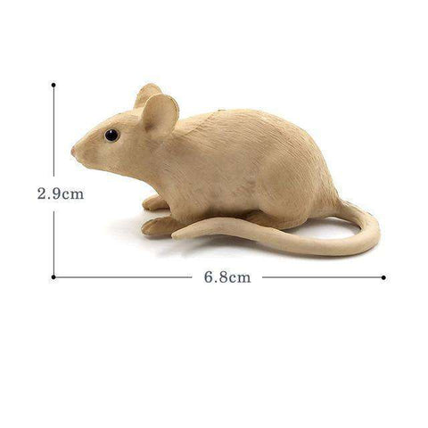 Collectible Mouse Miniature Toy Figure