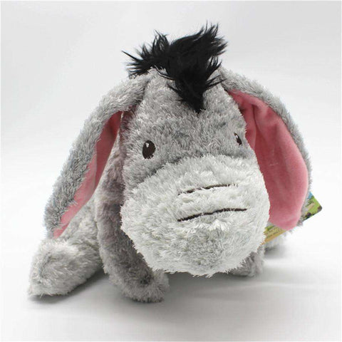 Stuffed Donkey Plush Toy - Green Earth Animals