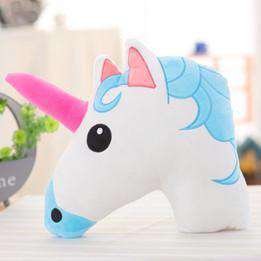 Cute White Unicorn Pillows