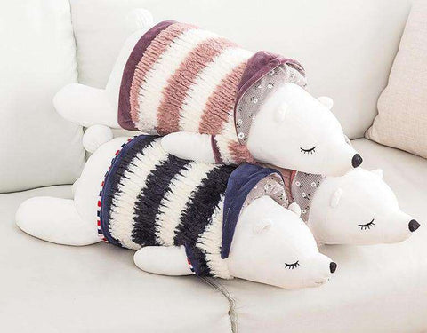 Plush Stuffed Polar Bears