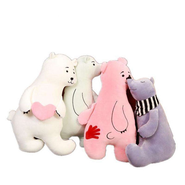 Polar Bear Stuffed Animal Pillows
