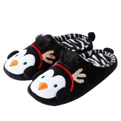 Cute Penguin Winter Slippers