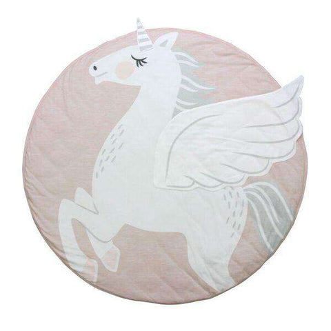 Unicorn Baby Play Mat Blanket