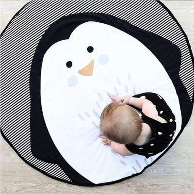 Image of Penguin Baby Play Mat Blanket
