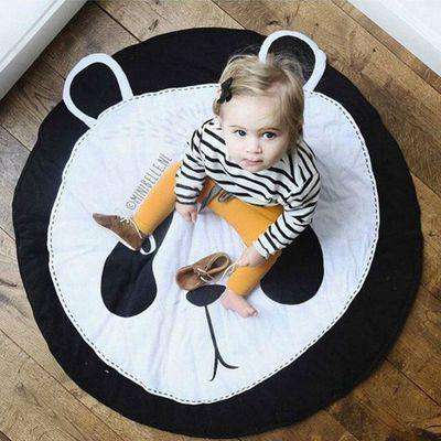Image of Panda Baby Play Mat Blanket