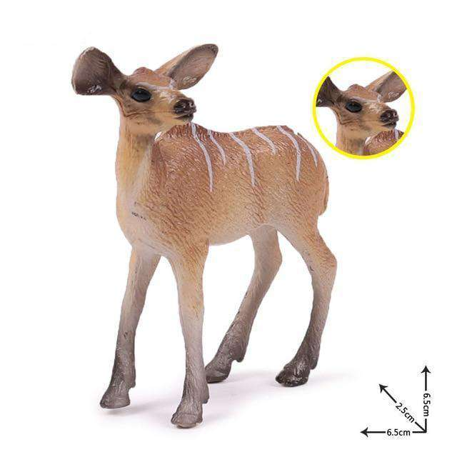 Collectible Baby African Kudu Antelope Miniature Toy Figure