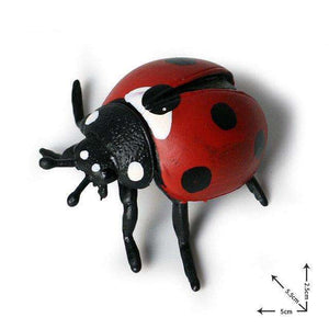 Collectible Red Lady Bug Miniature Toy Figure