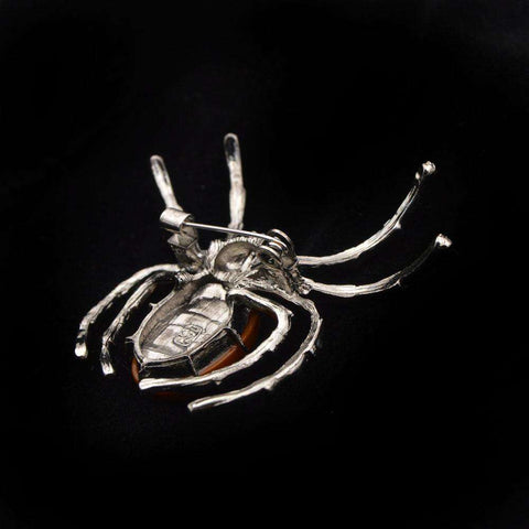 Stunning Insect Spider Brooch