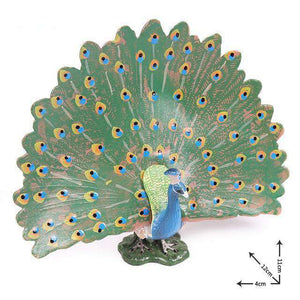 Collectible Peafowl Peacock Miniature Toy Figure
