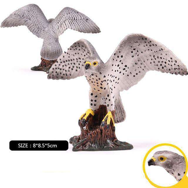 Collectible Peregrine Falcon Miniature Toy Figure