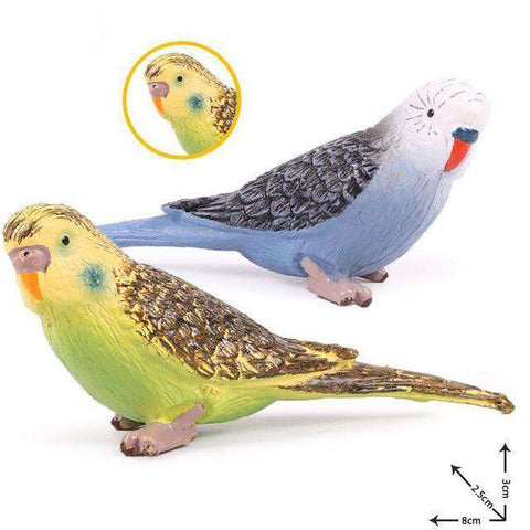 Image of Collectible Parakeet Parrot Figure