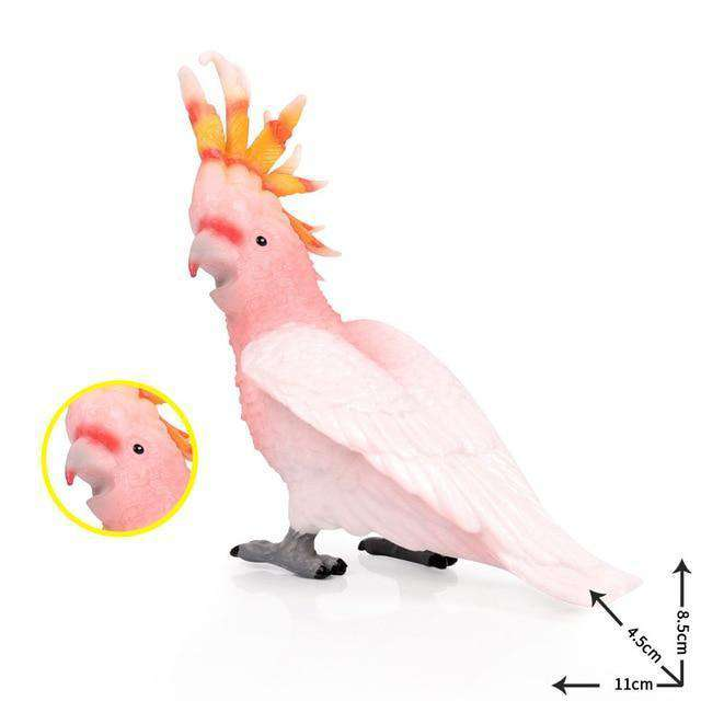 Collectible Cockatoo Parrot Bird Figure