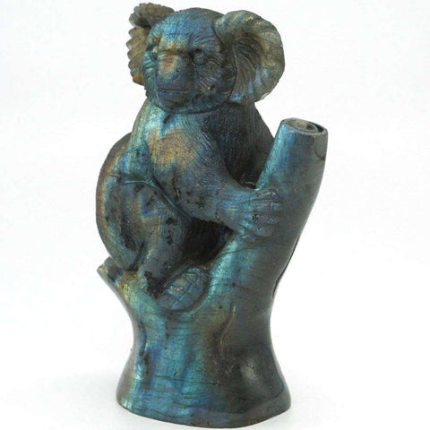 Koala Bear Gemstone Figurine