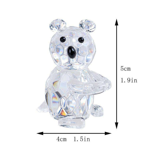 Image of Crystal Koala Bear Figurine