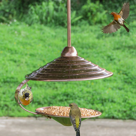 Copper Wild Bird Feeder