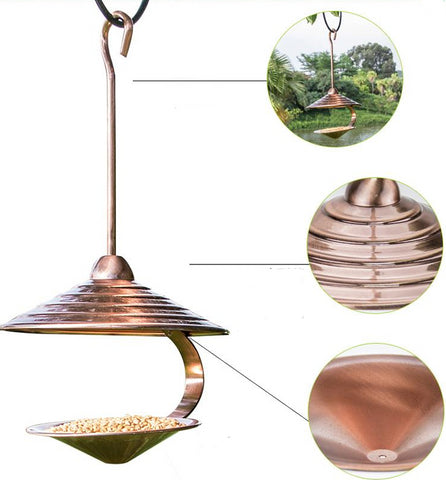 Image of Copper Wild Bird Feeder