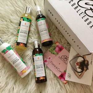 A Flora Curl x Curlee Box Review