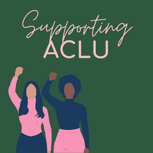 We're giving back to ACLU!