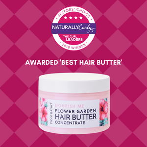 Flower Garden Hair Styling Butter - Flora & Curl: Pure | Potent | Luxurious | Non-Toxic Curl Care