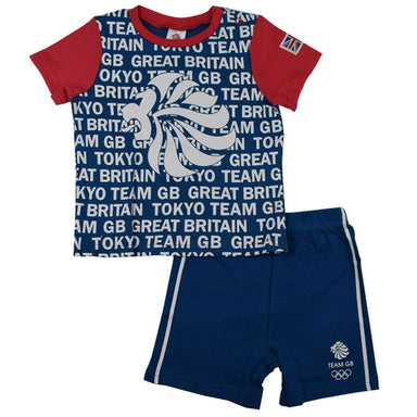 Team GB Short & Tee Set-Team GB Shop