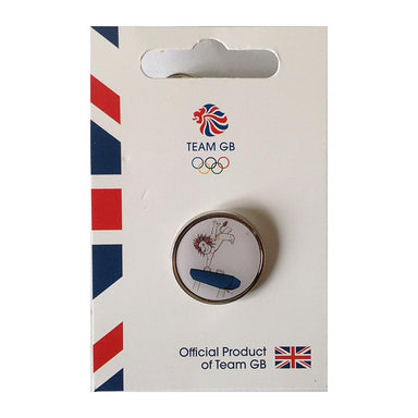 Team GB Pride Gymnastics Pin | Team GB Official Store