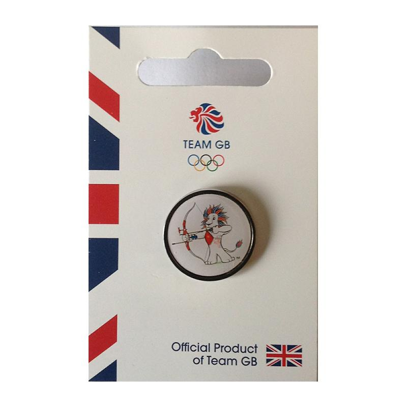 Team GB Pride Archery Pin | Team GB Official Store