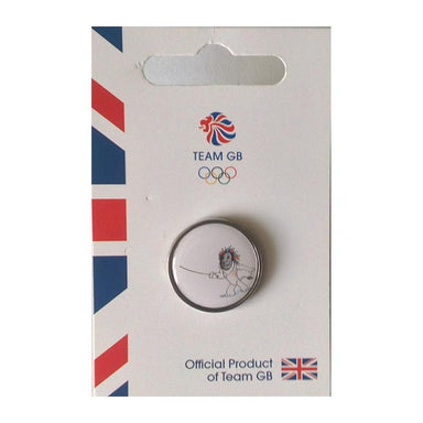 Team GB Pride Fencing Pin | Team GB Official Store