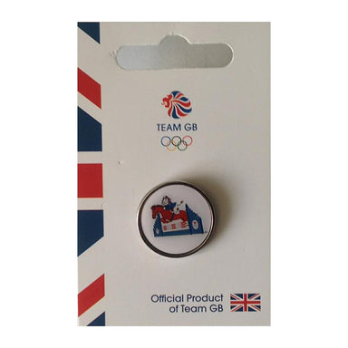 Team GB Pride Equestrian Pin | Team GB Official Store