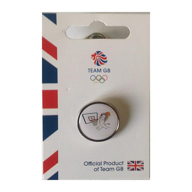 Team GB Pride Basketball Pin | Team GB Official Store