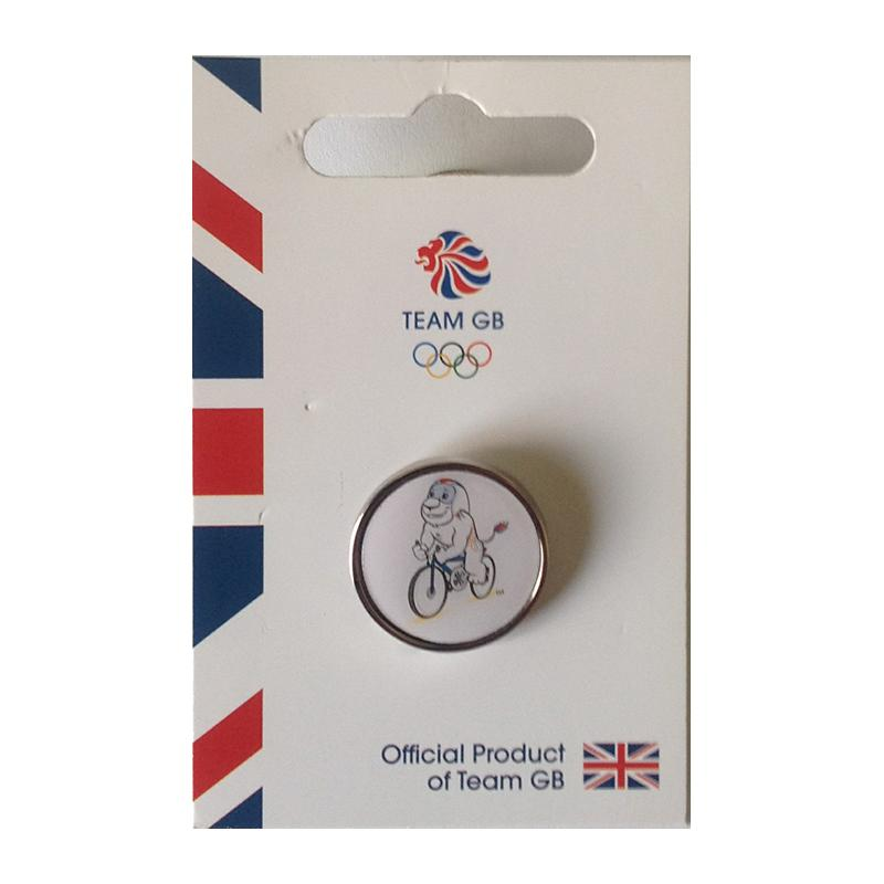 Team GB Pride Cycling Pin | Team GB Official Store