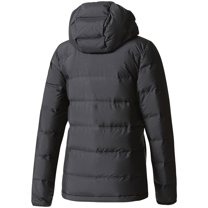 adidas Helionic Down Hooded Jacket Women's Black