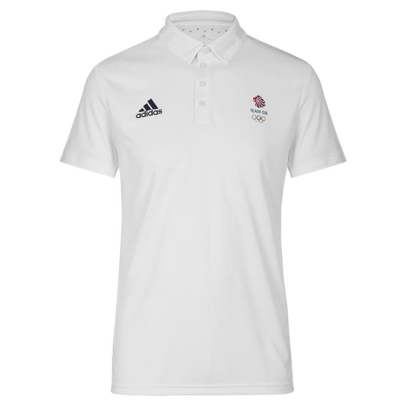7cbd518e2 adidas Team GB Climachill Tech Polo Shirt Men's | Official Team GB Shop