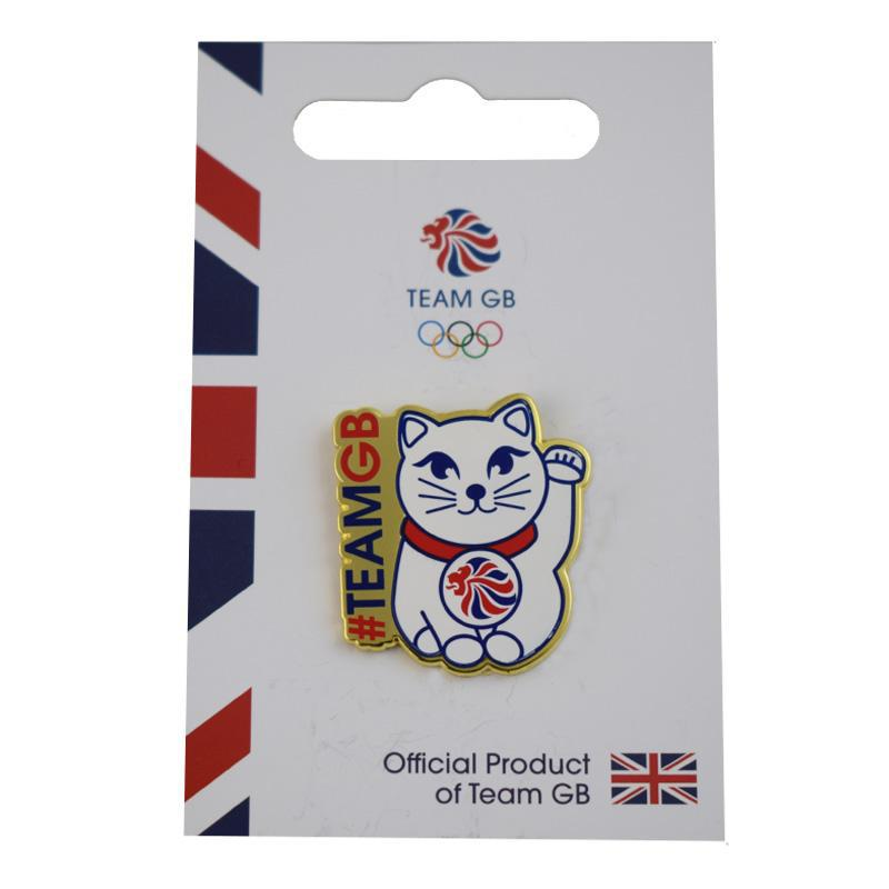 Team GB Maneki-neko Pin | Team GB Official Store