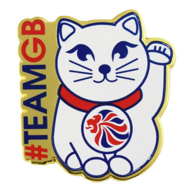 Team GB Maneki-neko Pin-Team GB Shop