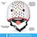 Team GB Curved Deluxe Helmet - Multi Tile - Illustration