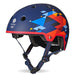 Team GB Curved Deluxe Helmet - Geometric Blue