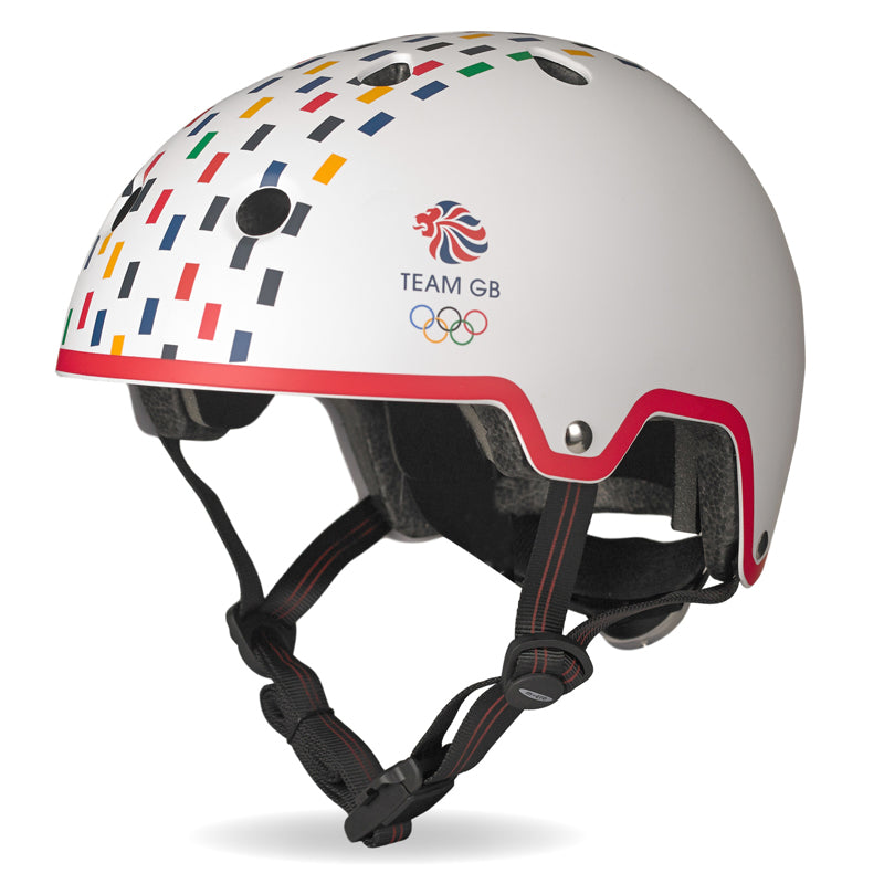 Team GB Curved Deluxe Helmet - Multi Tile