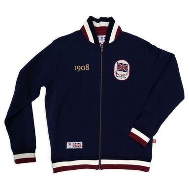 Team GB 1908 Full Zip Sweatshirt - Navy Blue | Team GB Official Store