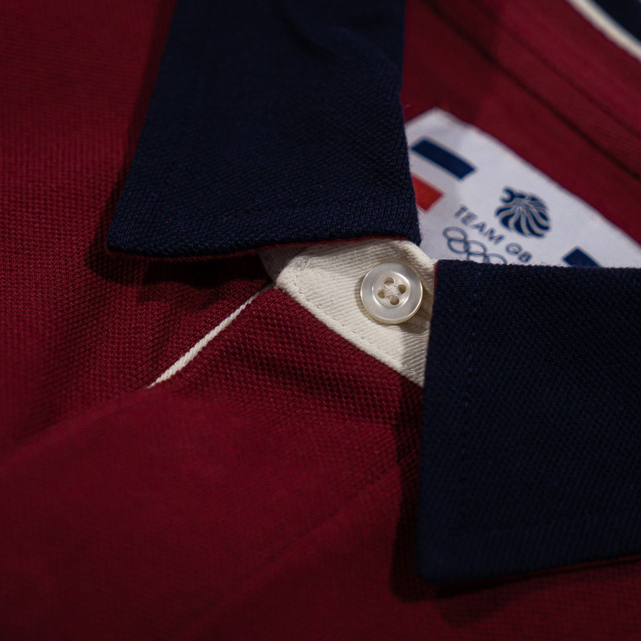 Team GB 1908 Polo Shirt - Burgundy | Team GB Official Store