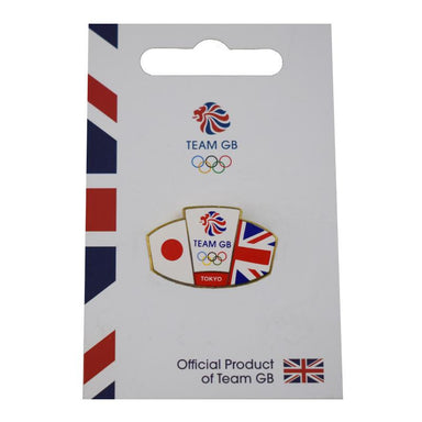 Team GB Union Jack and Japanese flag Tokyo Pin | Team GB Official Store