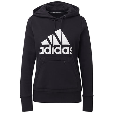 adidas badge of sport overhead fleece hoodie Women's