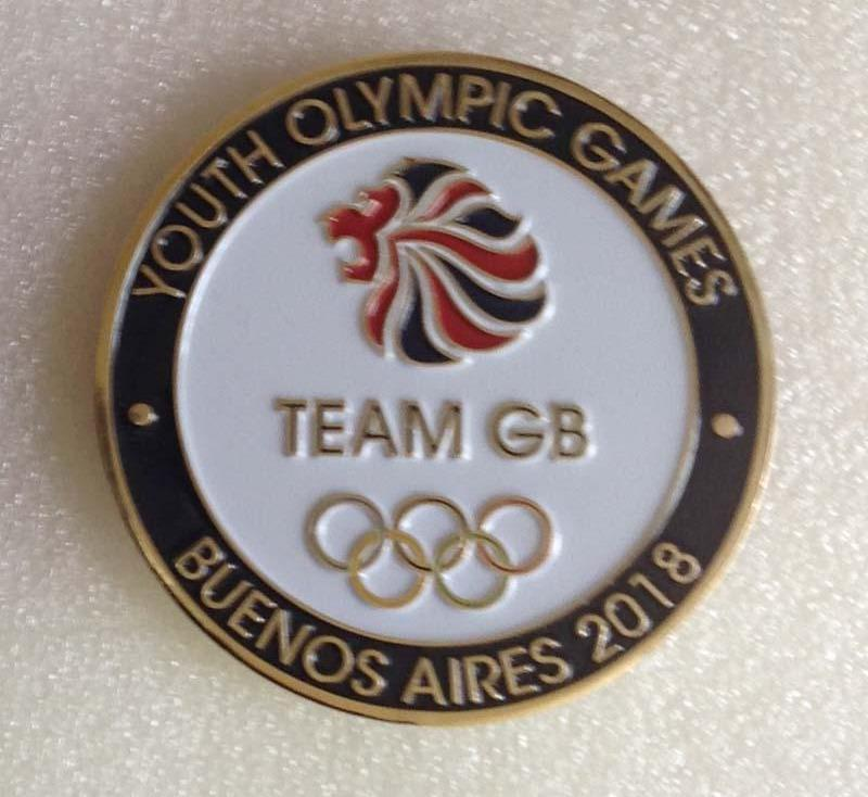 Team GB Youth Olympic Games Limited Edition Coin | Team GB Official Store