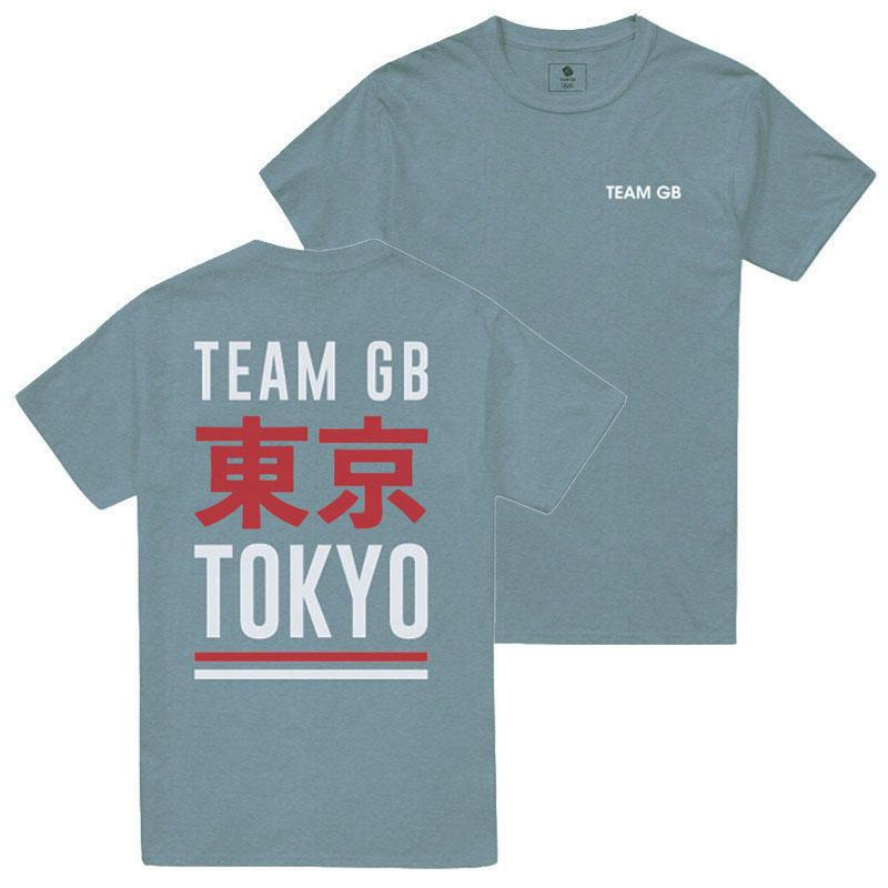 Team GB Izu T-Shirt Men's Citadel Blue